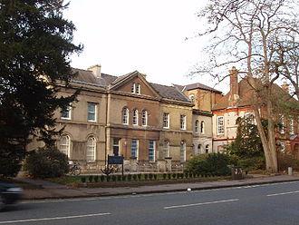 Oxford University Computing Services - Oxford University Computing Services building on Banbury Road.