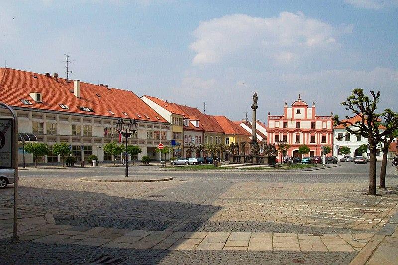 File:Písek, Staré město, Alšovo náměstí EX.jpg