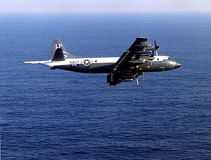 Lockheed P-3 Orion - P-3A of VP-49 in the original blue/white colors