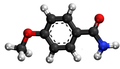 P-anisic amide3D.png