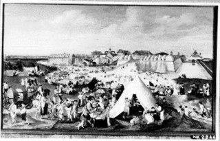 Het slopen van een fort