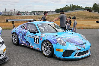 Trans-Am Series - Cars such as this Porsche 991.2 dominate the TA3 class