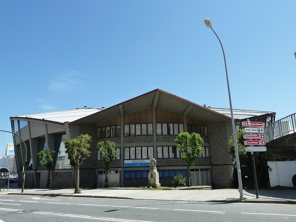 P1120835 Pazo dos Deportes de Riazor-parte traseira-A Coruña-2012
