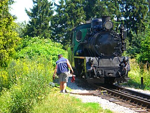 Narrow-gauge railways in the Czech Republic - Image: P7020026