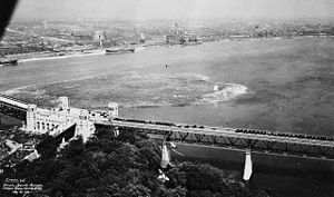 Jacques Cartier Bridge - The inauguration of the Bridge on May 24, 1930.