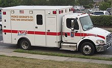 Prince George's County Fire/EMS Department - Wikipedia