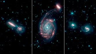 Galaxy merger - Image: PIA23009 GOALS Merging Galaxies 20190227