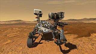 <i>Perseverance</i> (rover) Mars rover launched as part of NASAs Mars 2020 mission
