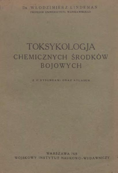 File:PL Lindeman-Toksykologja chemicznych środków bojowych.djvu
