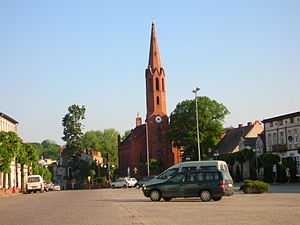 Wyrzysk - Church in Wyrzysk