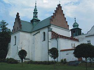 Szczyrzyc - 13th-century Cistercian abbey in Szczyrzyc