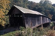 PONN HUMPBACK COVERED BRIDGE