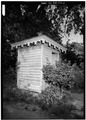 PRIVY - Dr. Henry Ridgely House, 6 South State Street, Dover, Kent County, DE HABS DEL,1-DOV,10-11.tif