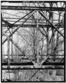 PROFILE VIEW OF TRUSS - Hamilton County Bridge No. 218, Greenfield Pike, spanning Stoney Creek, Noblesville, Hamilton County, IN HAER IND,29-NOBL.V,6-12.tif