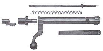 M1917 Enfield - M1917 Mauser M98 type bolt