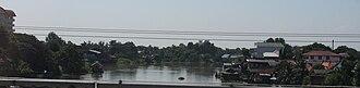 Pa Sak River - The Pa Sak River flowing east of Ayuttaya's old city