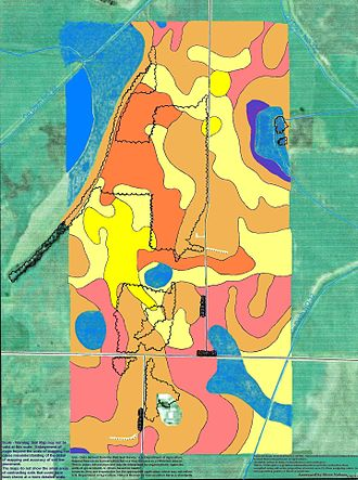 Stearns County, Minnesota - Soils of Padua area, Stearns County