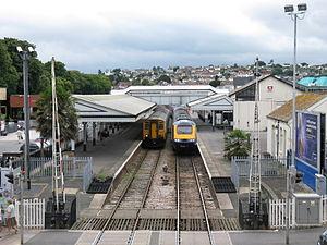 Paignton railway station - Image: Paignton railway station