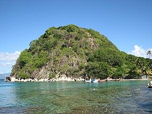 Pain de Sucre, sur l'île de Terre-de-Haut (Les...