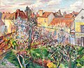 Painting of Senlis - France by Alice Riddle Kindler.jpg