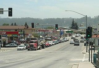 Pajaro, California Census designated place in California, United States