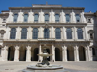 Palace in Rome, houses part of Galleria Nazionale d