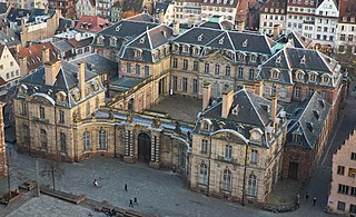 Palais Rohan, Strasbourg 18th-century palace, home of MBAS, MADS, and MAS