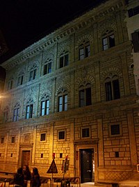 Lo and Behold, the Palazzo Rucellai