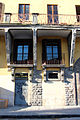 Palazzo Borghini, ext. stemma 04.JPG