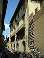 Palazzo medici riccardi, facciata su via de' ginori, biblioteca riccardiana.JPG