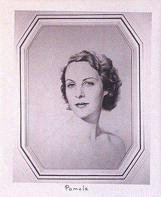 Deborah Cavendish, Duchess of Devonshire - Image: Pamela Mitford