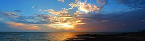 Pamlico Sound - Image: Pamlico Sound South Of Salvo