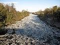 Pancake ice on the River Dee - geograph.org.uk - 1659151.jpg