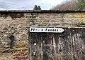 """Panneau """"Fleurs séchées"""" au cimetière de Jujurieux (Ain, France).jpg"""
