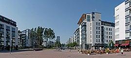 Panorama Aurinkolahden puistotietä kohti.jpg