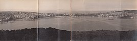 Panorama of Manly from Balgowlah Heights, Sydney (undated) (11268936925).jpg