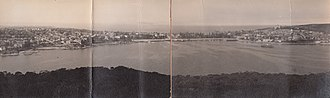 Balgowlah Heights - Image: Panorama of Manly from Balgowlah Heights, Sydney (undated) (11268936925)