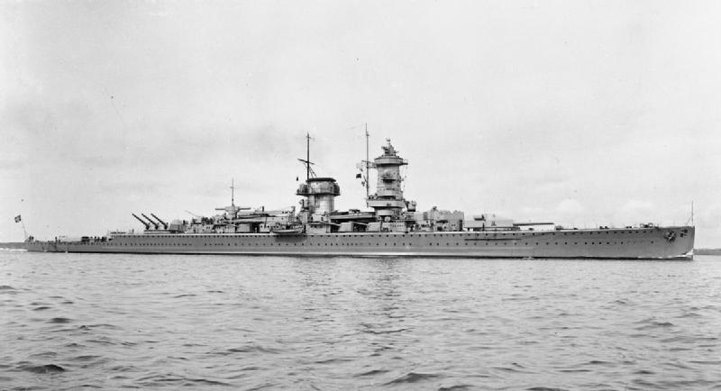 Panzerschiff Admiral Graf Spee in 1936
