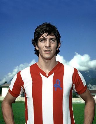 Paolo Rossi - Paolo Rossi with Vicenza during the late 1970s.