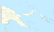 New Britain is located in Papua New Guinea
