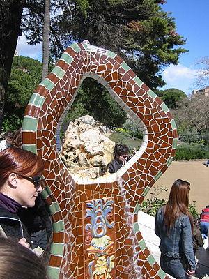 Trencadís - Image: Parc Guell 04