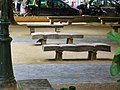 Paris 75006 Square Gabriel-Pierné stone benches 20040103.jpg