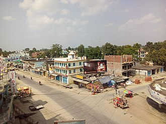 Dhangadhi - Parkchowk during Dashain.