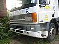 Parked lorry in Noke Lane. - geograph.org.uk - 39616.jpg