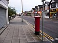 Parkstone, postbox No. BH14 49, Ashley Road - geograph.org.uk - 1427614.jpg