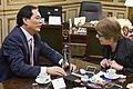 Parodi se reunió con el embajador de la República Popular China, Yang Wanming (14972602273).jpg