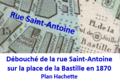 Partie de la rue Saint-Antoine arrivant place de la Bastille en 1870.png