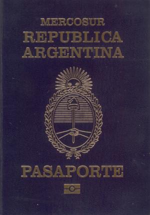 Visa requirements for Argentine citizens - Image: Pasaporte Republica Argentina
