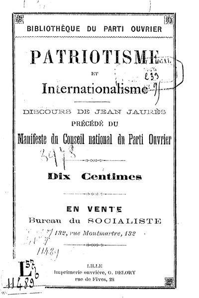 File:Patriotisme et internationalisme.djvu