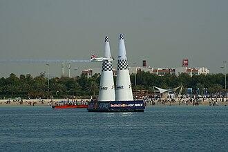 Paul Bonhomme - Bonhomme in the 2010 Red Bull Air Race